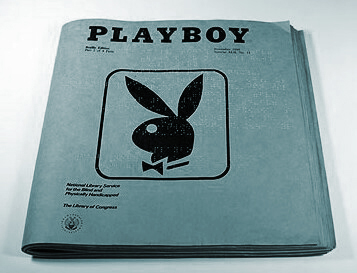 Playboy. In Braille...